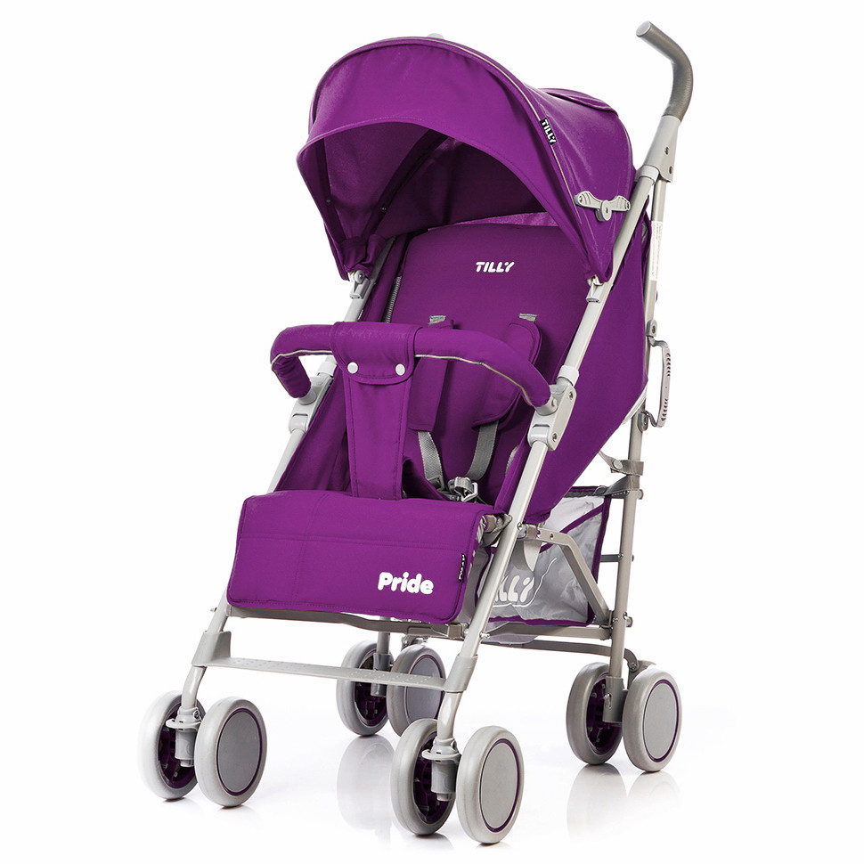 Коляска-трость Pride, «Tilly» (T-1412), цвет Purple (фиолетовый)