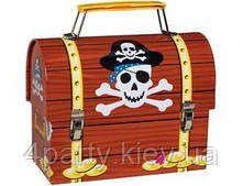 Сундучок пиратский металлический 2001-1501