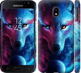 """Чехол на Galaxy J3 (2017) Арт-волк """"3999c-650-328"""""""