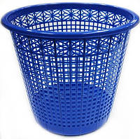 Корзина-сетка для бумаг, синяя, 437002