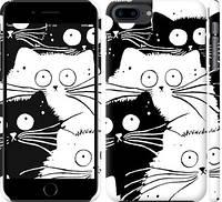 """Чехол на iPhone 7 Plus Коты v2 """"3565c-337-328"""""""