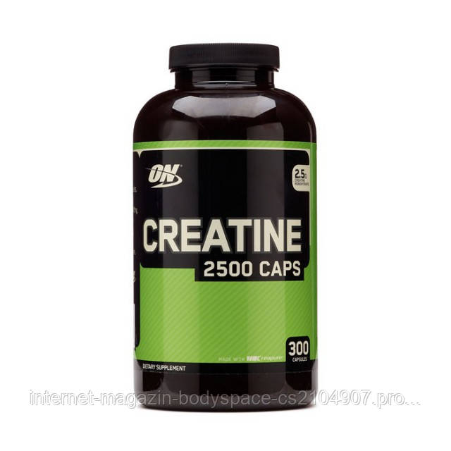 Optimum Nutrition, Креатин Creatine 2500 Caps, 300 капсул
