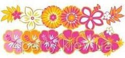 Комплект украшений Гаваи Цветы 1401-0144