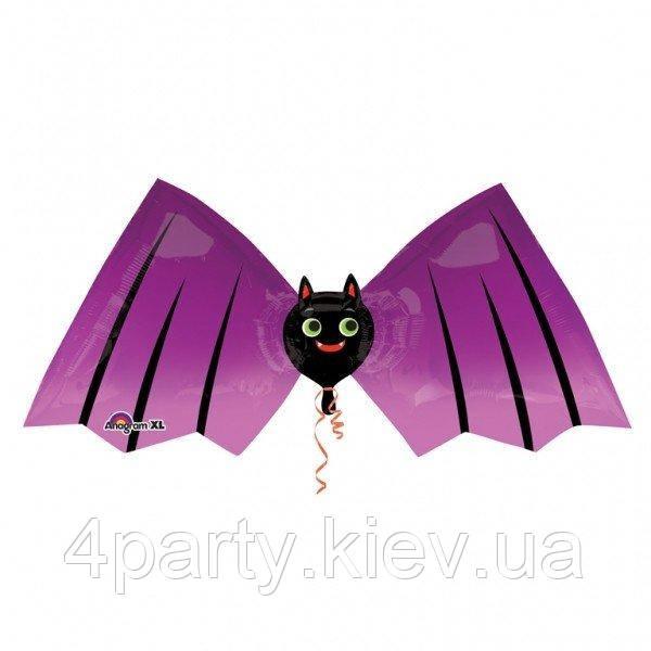 Шар фольгированный Летучая мышь 1207-0328