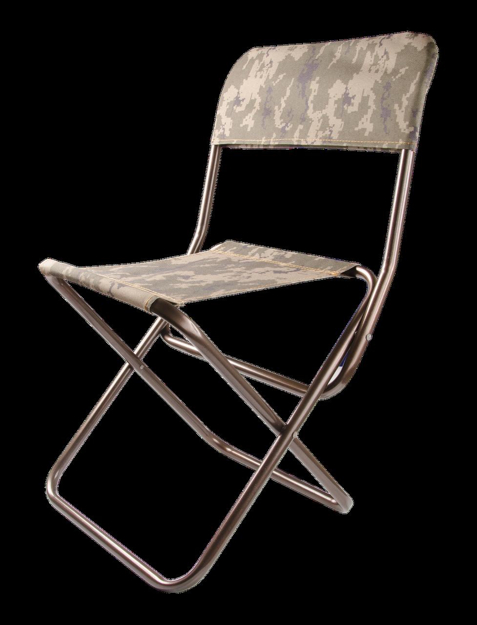 """Складаний стільчик """"Рибак"""" зі спинкою 300*255*600(350) мм Граніт"""