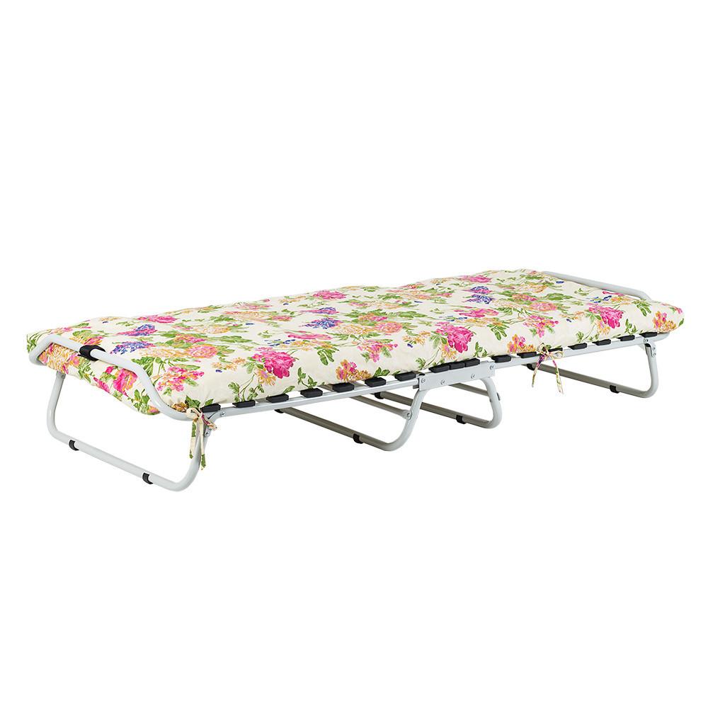 """""""Кровать на ламелях"""" d25 мм (Бязь Цветы) ВИТАН (2110078)"""