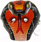 Маска змея оранжевая (детская) 240216-500
