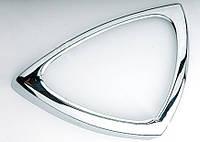 Стальная окантовка ручек Mercedes Smart 1998-2007 (Omsa, 2 шт)