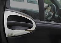 MERCEDES SMART 2007-2020 Окантовка дверной ручки (нерж.) 2-х дверн.