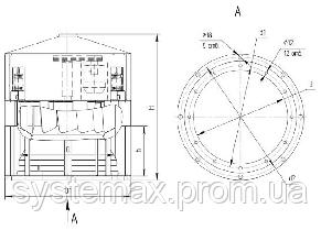 Вентилятор крышный ВКР №10, фото 2