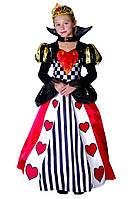 Костюм Королева сердець (дитячий, 110-120) 150216-085