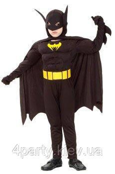 Костюм Бэтмена (детский, 120-130) 150216-265
