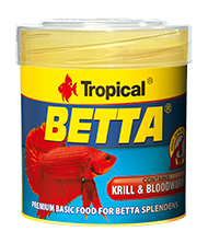 Сухой корм для петушков Tropical Betta 77062, 50ml/15g - АкваЗоо маркет ТриРифа в Харькове