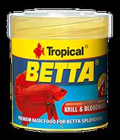 Сухой корм для петушков Tropical Betta, 100ml/25g