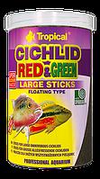 Сухой корм Tropical Red&Green Large ST для цихлид 63739, 10L /3kg