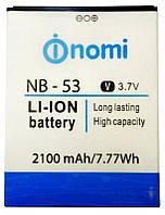 Аккумулятор 100% оригинал Nomi NB-53 i502