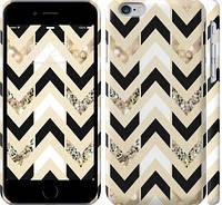 """Чехол на iPhone 6s Шеврон 10 """"3355c-90-328"""""""
