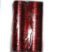 Серпантин фольгированный красный 1501-0304