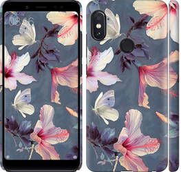 "Чехол на Redmi Note 5 Pro Нарисованные цветы ""2714c-1353-328"""