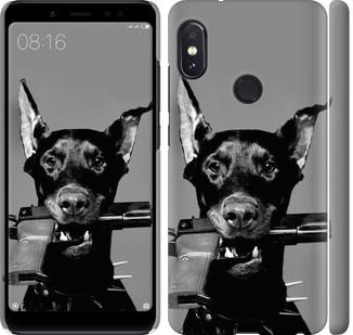 """Чехол на Redmi Note 5 Pro Доберман """"2745c-1353-328"""""""