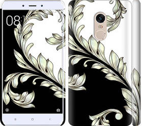 "Чехол на Redmi Note 4 White and black 1 ""2805c-352-328"""