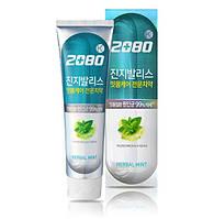 Антибактериальная зубная паста с экстрактом Гингко Билобы 2080 Gingivalis K Toothpaste Herbal Mint, 120мл