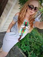Молодёжное летнее платье с карманами, фото 1