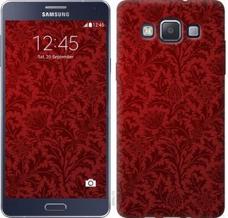 "Чехол на Galaxy A5 A500H Чехол цвета бордо ""2659c-73-328"""