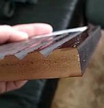 Двері вхідні 1200 з полімер плитою з ковкою, фото 9