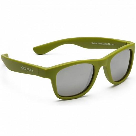 Koolsun Wave - Солнцезащитные очки (3-10 лет), цвет оливковый
