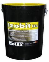 Мастика битумно-каучуковая на основе растворителей IZOBIT DK, 19кг