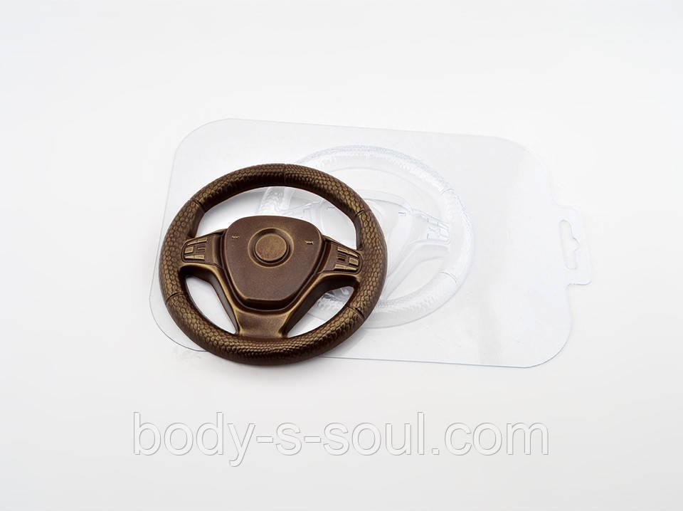 Пластиковая форма для шоколада Руль