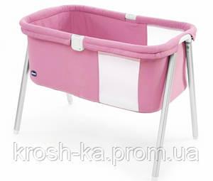 Кровать для новорожденных  мини LullaGo Chicco Hencz Toys розовая 79812.06