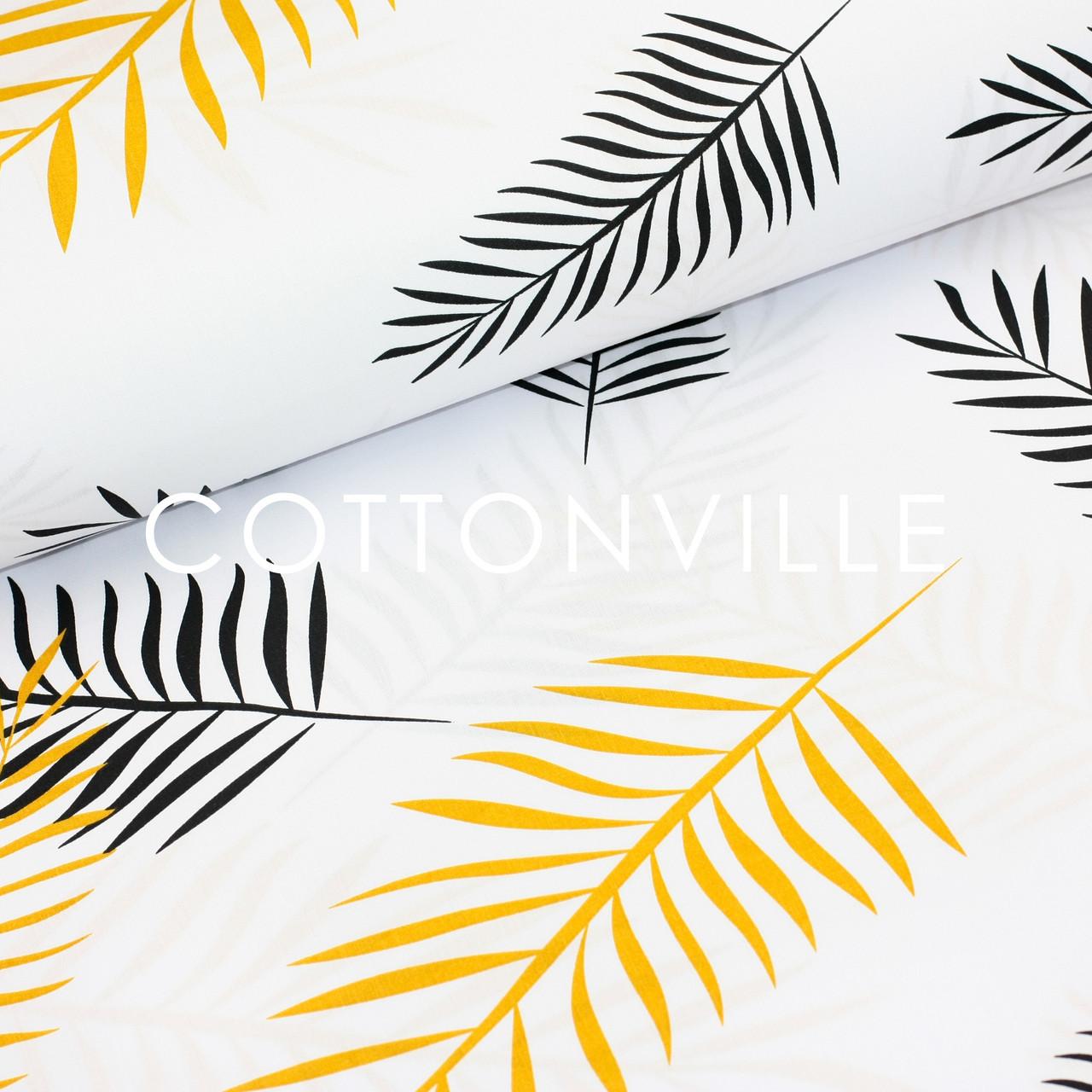 ✁ Отрезы Хлопковой ткани Пальмовые ветки