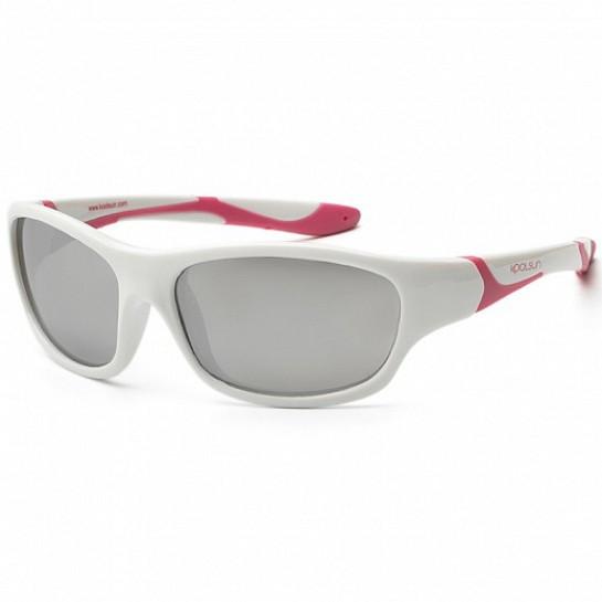 Koolsun Sport - Солнцезащитные очки (3-8 лет), цвет белый