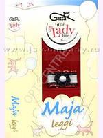 Лосины для девочки капроновые Gatta Польша красные Maja Leggi/04