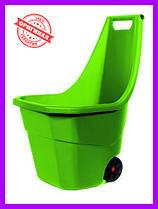 Садовая тачка Prosperplast LOAD & GO 55 л  оливковая