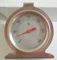 Термометер для духовки 0-300 нержавийка