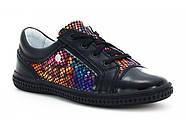 Туфли для девочки (27,32) р (Бартек)Bartek Польша чёрные 95524-SZ-1HT, фото 8