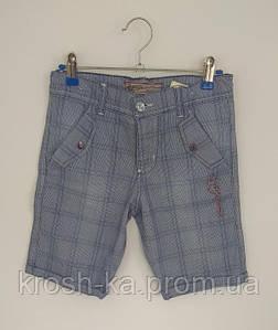 Шорты джинсовые для мальчика A-yugi Турция голубые 12459