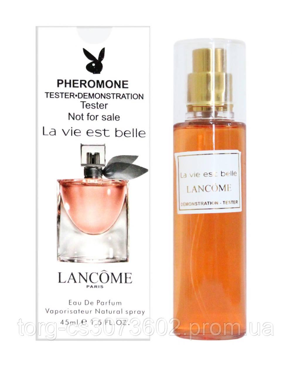 Тестер женский 45 мл. Lancome La vie est belle