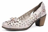 Rieker туфли женские лето 40965-90