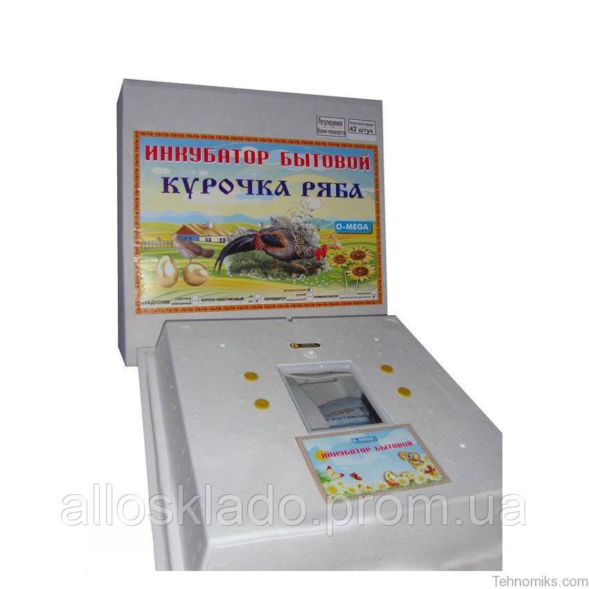 Инкубатор Курочка Ряба ИБ 42 с автоматическим переворотом