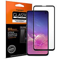 Защитное стекло Spigen для SamsungGalaxy S10e GLAS.tR Full Cover, Black (609GL26003)