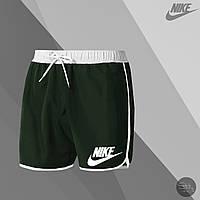Мужские шорты для купания Nike green (реплика)