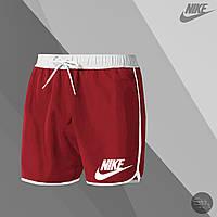 Шорты мужские для купания Nike red (реплика)