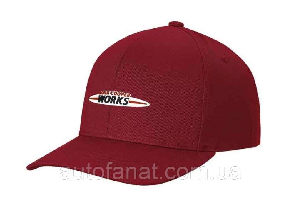 Оригинальная бейсболка MINI JCW Logo Cap, Chili Red (80162454533)