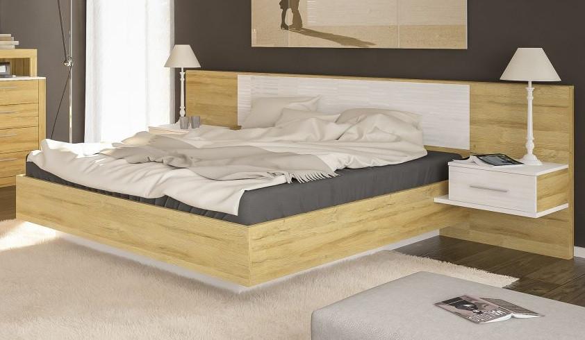 Кровать с тумбами Фиеста (Мебель-Сервис)