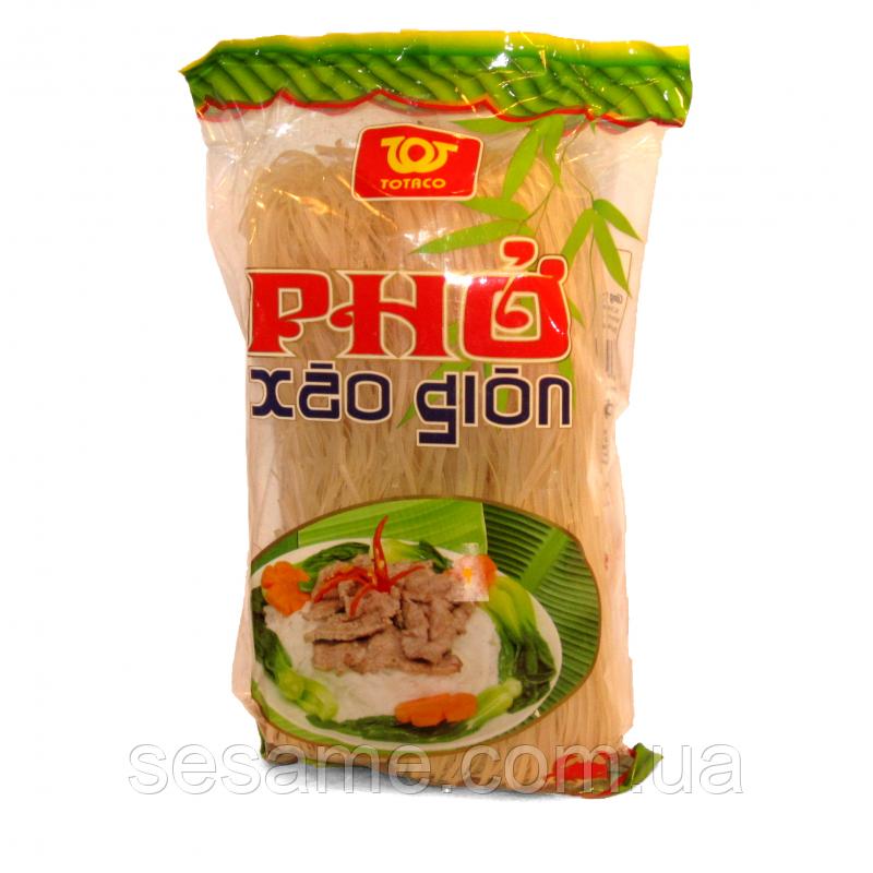 Рисовая лапша широкая Totaco Pho Xao Gion 500г (Вьетнам)