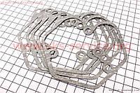 Прокладка крышки головки цилиндра (клапанов) 186F 3отв. ZUBR к-кт 5шт